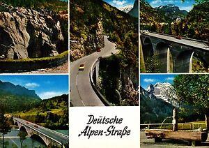Deutsche Alpenstraße , Ansichtskarte , ungelaufen - Rostock, Deutschland - Deutsche Alpenstraße , Ansichtskarte , ungelaufen - Rostock, Deutschland