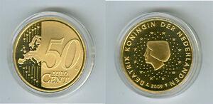 Niederlande  50 Cent  PP/Proof  (Wählen Sie zwischen den Jahrgängen: 1999-2019)