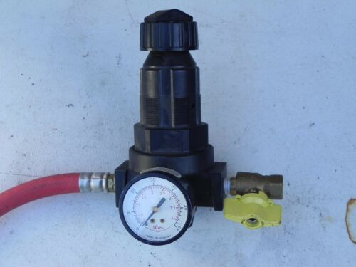 """Details about  /Master Pneumatic R100-6 Regulator 3//4/""""npt  0-125psi Max Inlet 300psi Lot of 2"""
