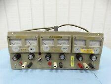 Lambda Lpt 7202 Fm Triple Output Regulated Power Supply 2x20v15a 7v5a