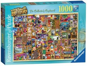 RAVENSBURGER-PUZZLE-1000-TEILE-COLIN-THOMPSON-THE-COLLECTOR-039-S-CUPBOARD-RARITAT