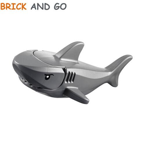 Dunkelgrau, Dark Grau 1 X lego City Minifigur Animal Hai Shark Neu New