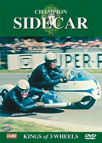 1 of 1 - Champion Sidecar - Kings of 3 wheels (New DVD) Motorcycle Oliver Deubel Webster