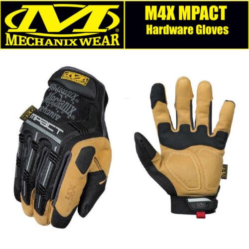 Mechanix M4X MPACT Reinforced Workmen Mechanic Hardware Gloves FREE UK DELIVERY