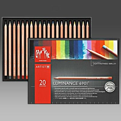 Luminance 6901 Color Pencil 159 Prussian Blue
