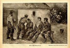 Prof. Max Rabes, Berlin Der Feldbarbier Soldaten- Alltag von 1914/15
