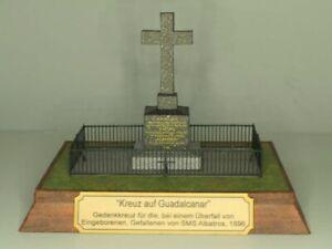 Es-steht-ein-Kreuz-auf-Guadalcanar-Papiermodellbaubogen-k-u-k-Kriegsmarine