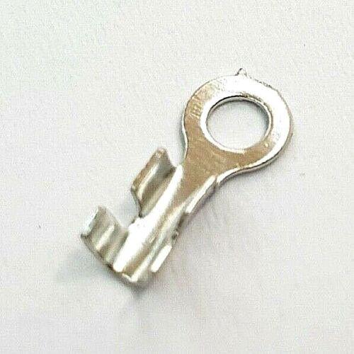 25x M2 Ring Kabelschuhe Crimp Öse Ring Hitzebeständig bis 250°C Modellbau Pkw