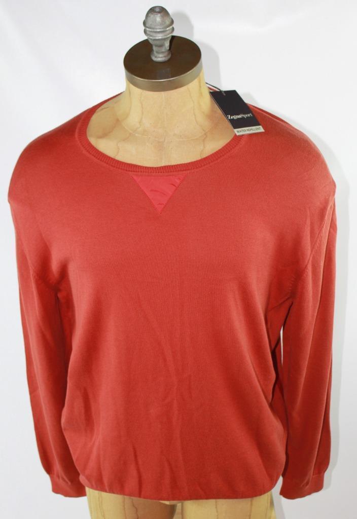 AUTH  325 Ermenegildo Zegna Zegna Sport Uomo Uomo Sport Cotton Sweater 2XL 9c9b19