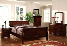 Bedroom set Furniture 5 pc  SALE - Louis Philippe Style Queens/ full.