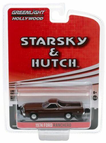 1974 Ford Ranchero  STARSKY /& HUTCH  Movie TV *** Greenlight 1:64 NEU+OVP