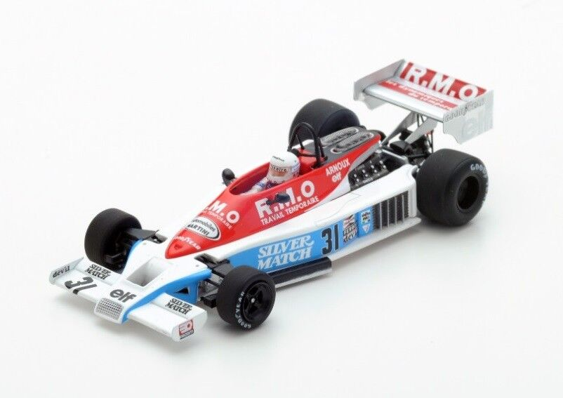 Martini Mk23  31 R.Arnoux  GP Netherlands  1978 (Spark 1 43   S4839)