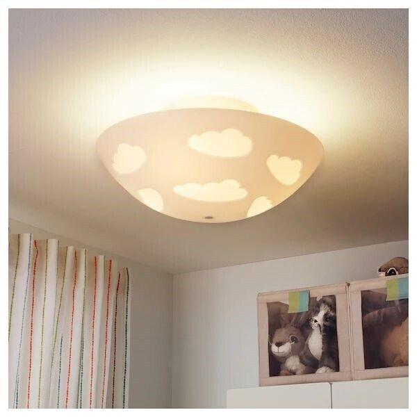 Anden loftslampe, IKEA skojig