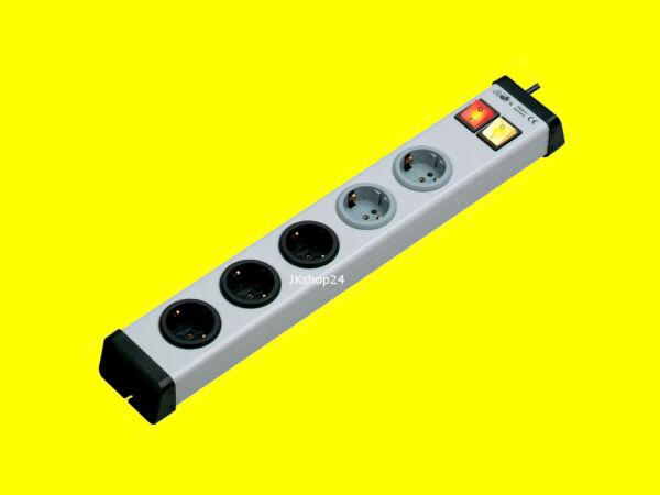 5-fach Steckdosen-leiste 3+2-fach Steckerleiste 250 V  vario-linea 0203x00052301