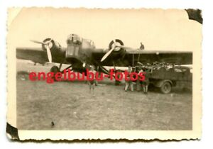 FOTO-FLUGZEUG-KG-54-Zerstoerer-Bomber-034-Wellington-deutsch-franzoesisch