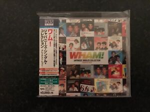 Wham! Japanese Singles Collection -Greatest Hits CD Sealed