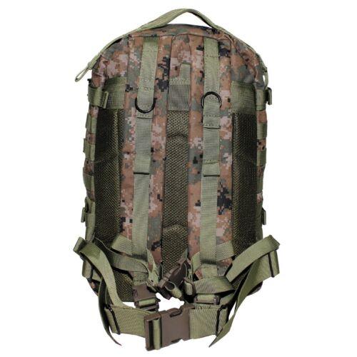 MFH US Army mochila Assault II 40 litros outdoor trekking mochila backpack