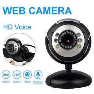 USB-HD-Webcam-Kamera-Web-Cam-mit-LED-Mikrofon-Fuer-PC-Laptop-Computer-Desktop