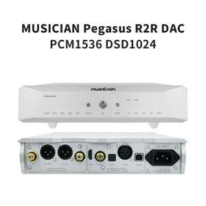MUSICIAN PEGASUS R2R DAC Resistance DSD1024 PCM1536 USB Coax Opt HIFI Decoder