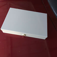 Metal Cash Box With Coin Tray Insert