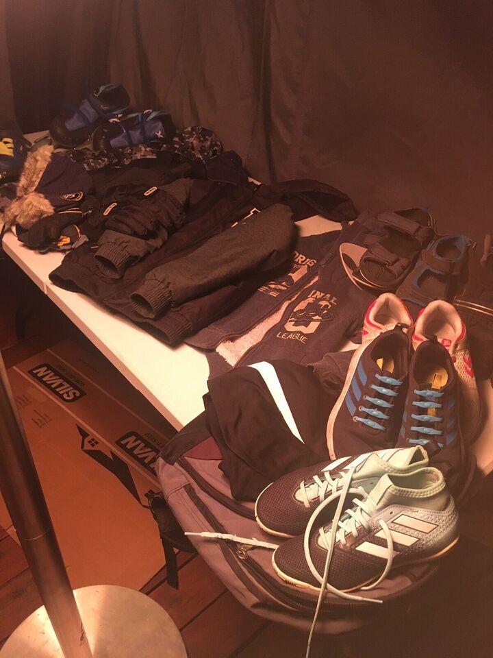 Blandet tøj, Flyverdragt, jakker tøj mm