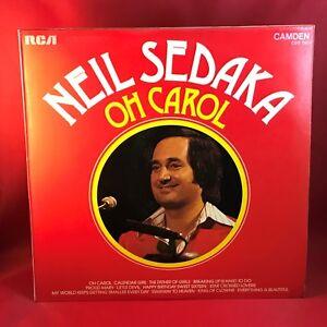 Neil Sedaka Calendar Girl.Neil Sedaka Oh Carol Uk Vinyl Lp Record Excellent Condition Calendar
