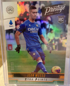 2019-20 Panini Chronicles Juan Musso Xtra Points RC 66/89