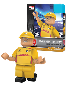RYAN HUNTER-REAY #28 DHL INDY CAR RACING OYO MINIFIGURE BRAND NEW