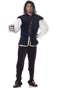 Brand New Medieval Man Renaissance Adult Costume