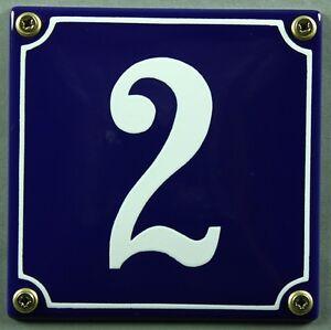 Azul-Esmalte-Numero-de-casa-034-2-034-12x12cm-Matricula-Envio-Inmediato-signo