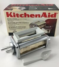 KitchenAid KRAV Ravioli Maker Stand Mixer Attachment w/Spoon
