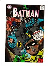"BATMAN #196  [1967 VG+]  ""THE PSYCHIC SUPER-SLEUTH!"""