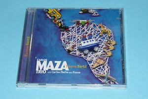 CD-CARLOS-MAZA-TRIO-034-TIERRA-FERTIL-034-10-TITRES-UNIVERSAL-2000-TB-ETAT