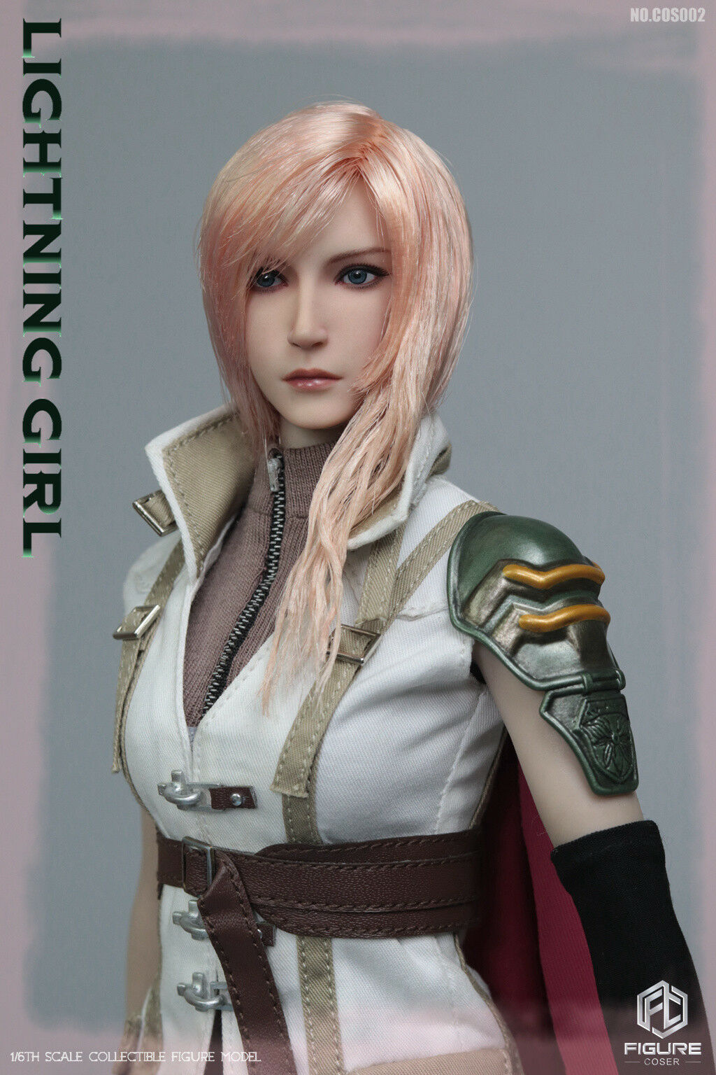 FIGURECOSER 1 6 COS002 Lightning Girl Head Carving&Clothes Accessories F PH Body