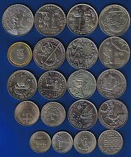 PORTUGAL - 20 MÜNZEN LOT  Gedenkmünzen   20 VERSCHIEDENE