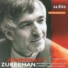 Mozart Violin Concerto No. 5 / Strauss Symphonia Domestica Ashkenazy Audio C
