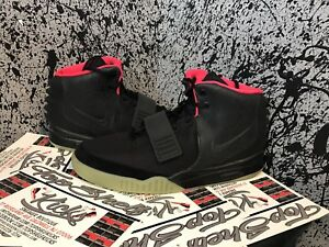 6019bc7865777 DS New Size 13 Nike Air Yeezy 2 Solar Retro Authentic Rare OG Qs ...