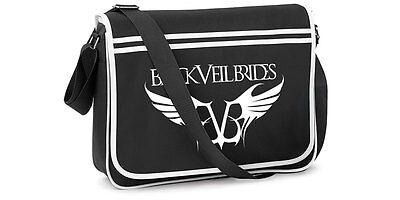 Official BLACK VEIL BRIDES - REBEL LOGO NEW Retro Bag
