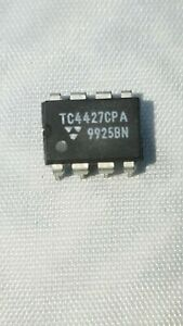 TC4427CPA-IC-5-LOT-MOSFET-Driver-1-5A-2-OUT-8-Pin-USA-STOCK-FREE-SHIP