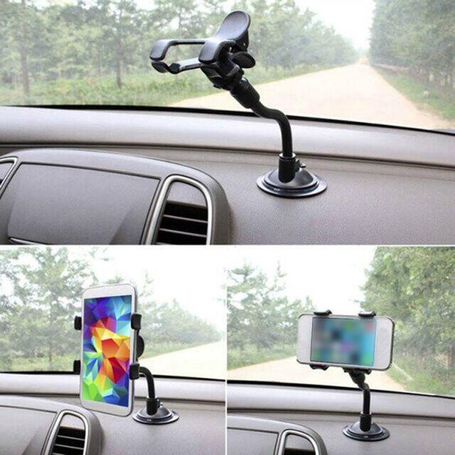 360° Universal Rotation Car Windshield Mount Holder For Mobile Phone Cradle J3Z8