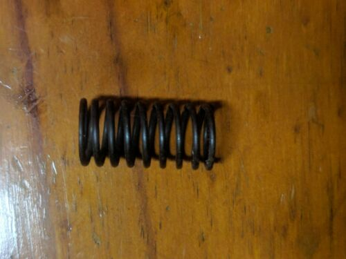 """Steel compression Coil Coiled Spring OD 10.5mm x 1//2/"""" 13mm wire width 1mm"""