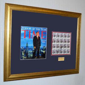 Firmado-Rudy-Giuliani-9-11-Autografo-E-U-Bombero-Estampadoras-Tiempo