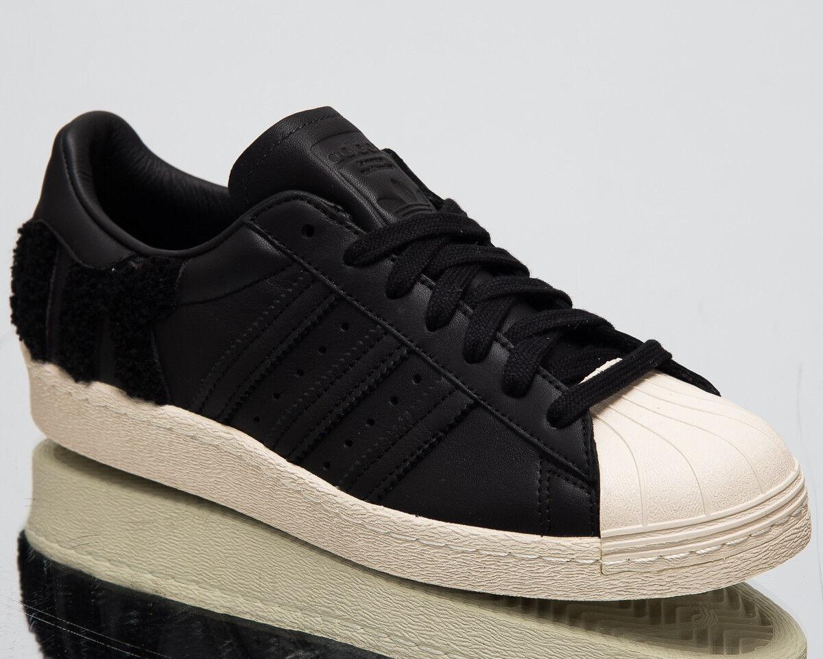 Adidas Originales Superstar 80s Nuevo Hombre Zapatos de Estilo de vida Core Negro 2018 AQ0883