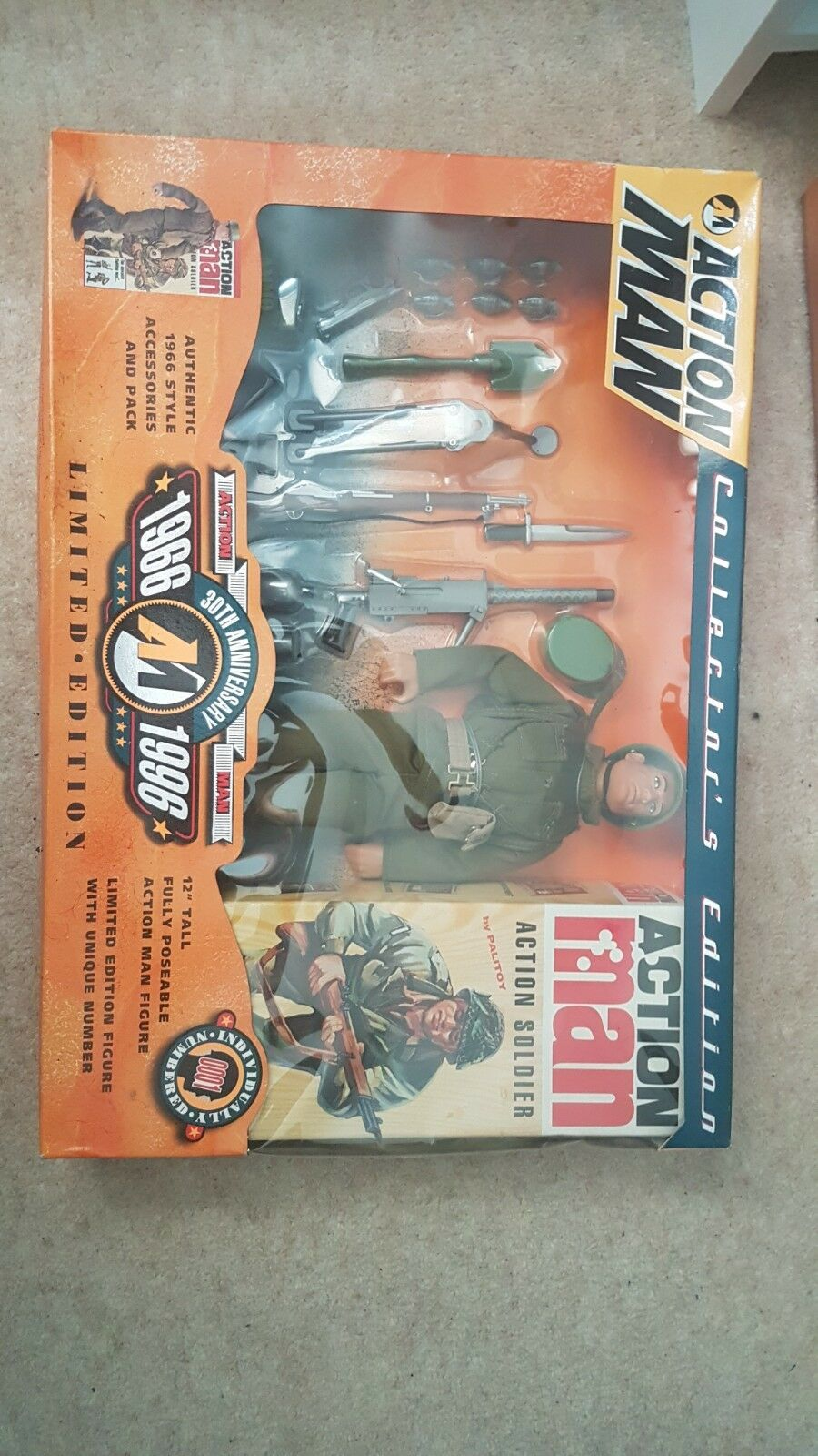 Action man 30th Anniversary Limited Edition