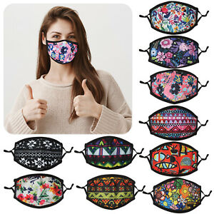 Ladies-Girls-Teenager-Cotton-Face-Mask-Washable-Adjustable-Double-Layer-Covering