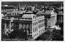 RPPC THE HOUSE OF PARLIAMENT CAPE TOWN SOUTH AFRICA REAL PHOTO POSTCARD