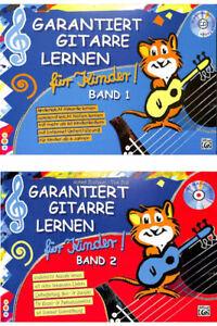 Garantiert-Gitarre-lernen-fuer-Kinder-Band-1-oder-2-mit-CD
