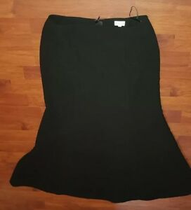 Phase-Eight-Womens-Black-Fabulous-Maxi-Skirt-Size-10