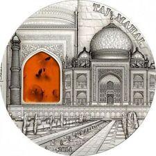 10 $ 2014 Palau - Mineral Art VI - Taj Mahal