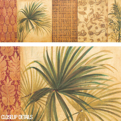 """57W""""x20H"""" PALM SONG I by LIZ JARDINE - CHOICES of CANVAS"""